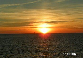 Lausen: Spooky und der Sonnenuntergang